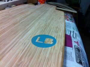 """Longboard Marke """"Eigenbau"""""""