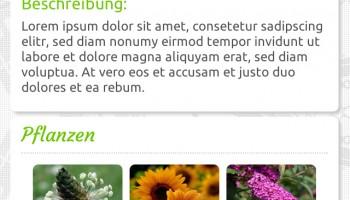 Plurb–Die App Screen